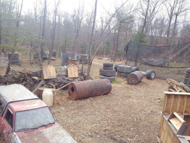 Airsoft War Backyard
