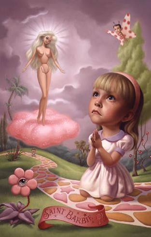 i apologize that i couldn't post it from the artists original source but it wouldn't let me. The work of Mark Ryden...one of my favorite artists