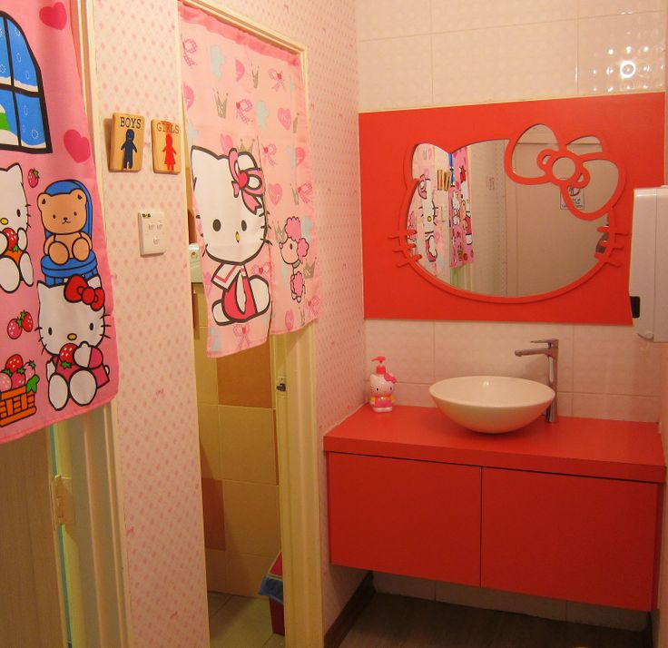 Hello Kitty Bathroom Decor Ideas : Best bathroom images on