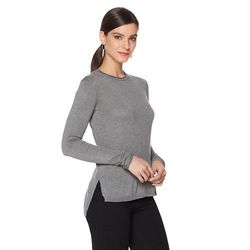 Pamela Dennis Rhinestone-Studded Sweater - Platinumslvrskull