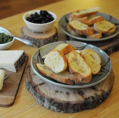A medium-size cross-section of a log makes an excellent trivet, protecting your kitchen counters and dining table from the likes of hot casserole dishes. Add felt pads from the hardware store to make the trivet easier to move, and you've got a versatile and attractive new kitchen staple! 10 Things to Do with... Cross-Cut Trees