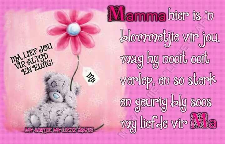 Vir my mamma x