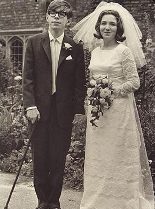 Stephen Hawking and Jane Wilde.