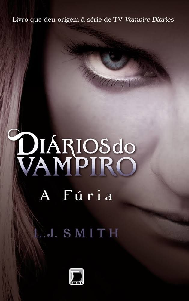livro the vampire diaries a furia