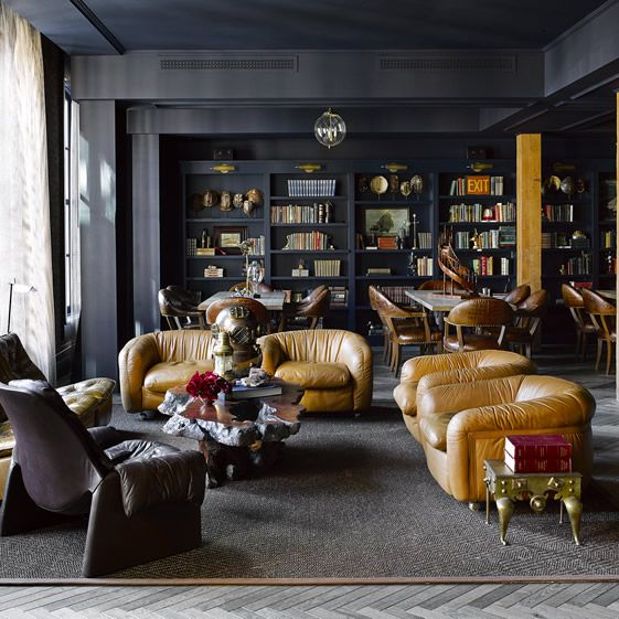 Architects Fee Munson Ebert worked on the former marble factory with interior designer Ken Fulk | exclusive private members' club The Battery in San Francisco