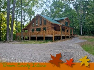 Hilltop Hideaway in Brown County Indiana