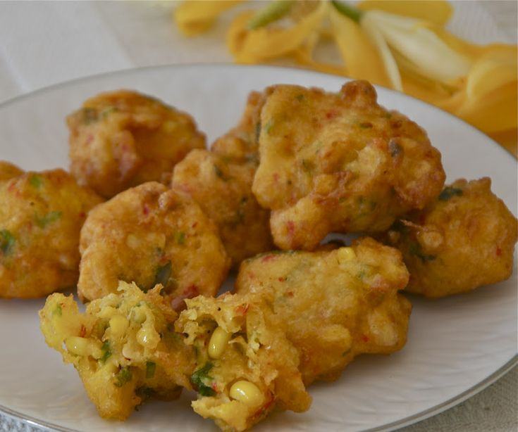 Indonesian Corn Fritters Recipe Food Network