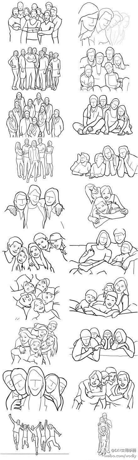 tolle Posing Ideen für Familienfotos =)