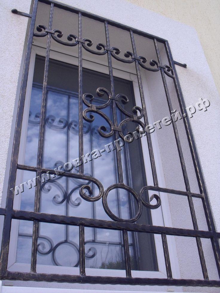 Кованые Оконные решетки: фото компании Прометей Юг