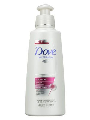 Dove Hair Therapy Color Care Leave On Conditioner Review: Hair Care: allure.com