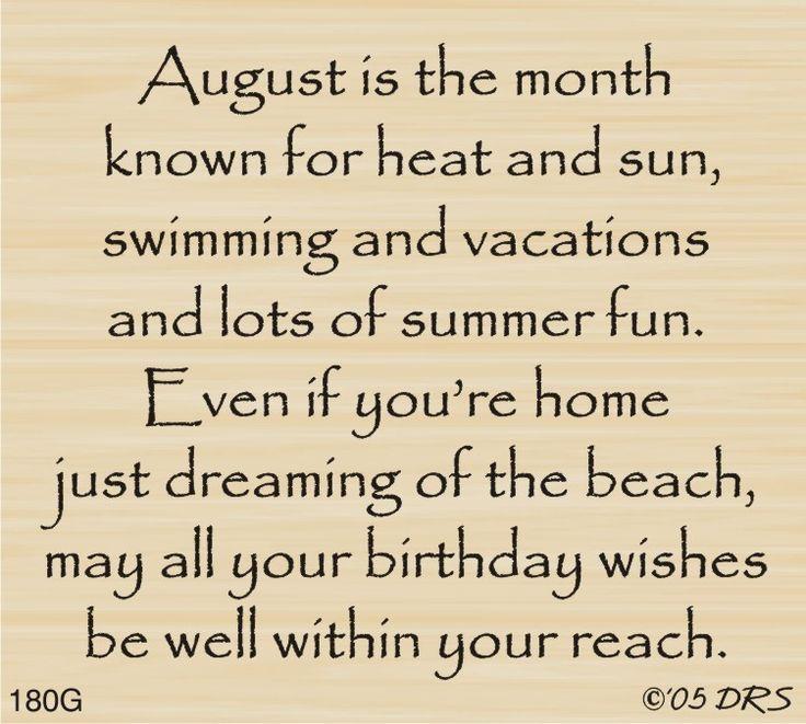 DRS Designs - August Birthday Greeting, $10.00 (http://www.drsdesigns.com/august-birthday-greeting/)