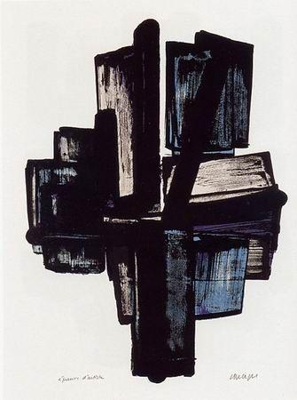 1000 id es sur le th me peintures abstraites sur pinterest for Affiche pierre soulages