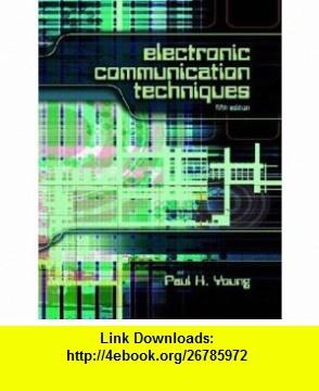 Electronic communication techniques 5th edition pdf