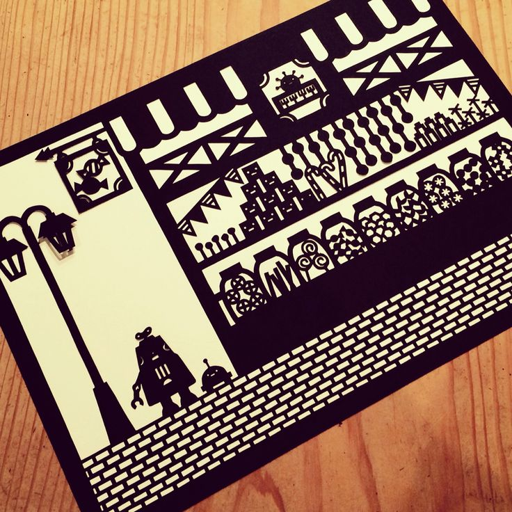 Can you find my robot 's arm? paper cutting