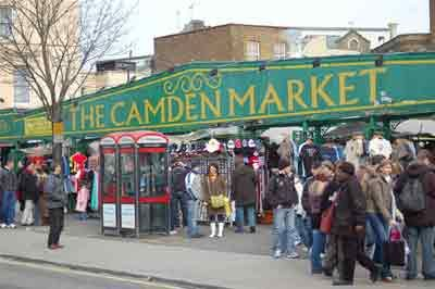 Camden Market, London UK - If you go to London, MAKE SURE this is on your 'must see' list.  Great place for souvenirs and local foods.