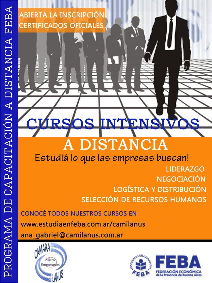 Estudia lo que las empresas buscan! Liderazgo, Negociacion, Marketing, Liquidacion de Sueldos y mucho mas... www.estudiaenfeba.com.ar/camilanus