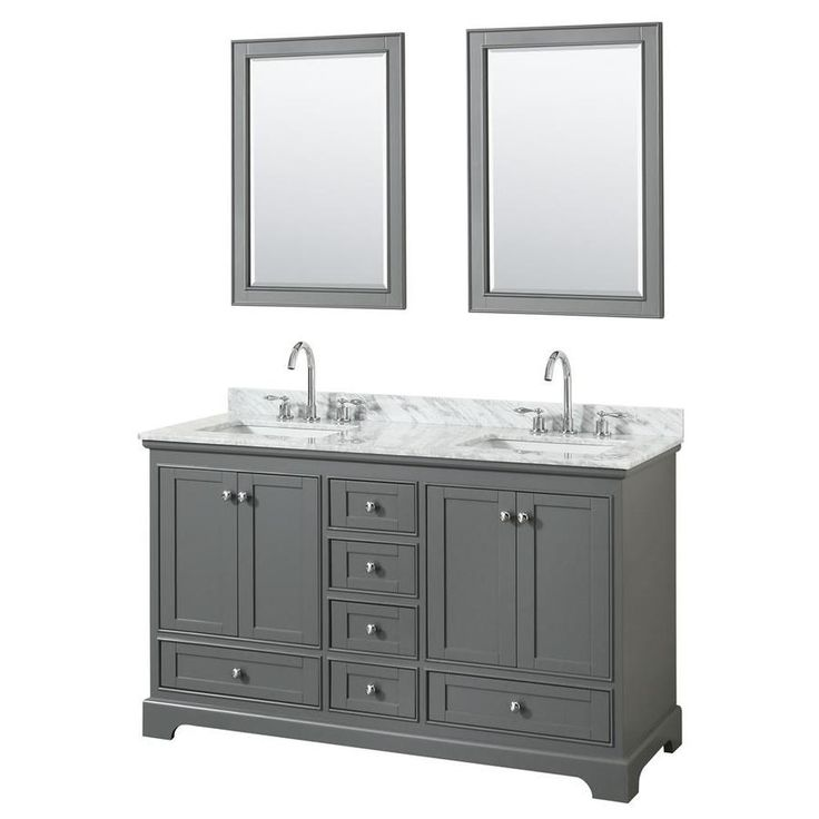 Contemporary Art Websites Wyndham Collection Andover inch Double Bathroom Vanity in Dark Cherry Ivory Marble Countertop Undermount Oval Sinks and inch Mirror Beige Double