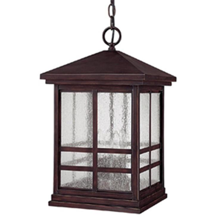 Craftsman Outdoor Hanging Lantern
