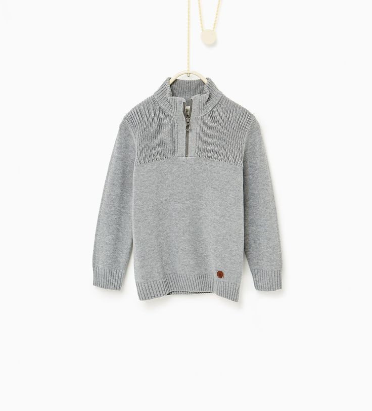 boys Sweater with zip - Available in more colours