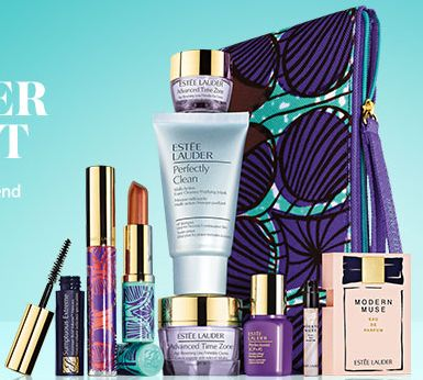 Estee Lauder 9-Pc Gift With Purchase @ Myer   My Gift With Purchase   Pinterest   Gifts, Estee lauder free gift and Free gifts