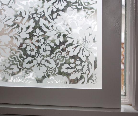 DIY Etched Window Tutorial