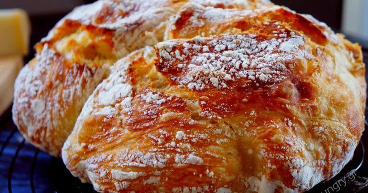 No Knead Bread, No Knead Bread/ Σπιτικό Ψωμί χωρίς Ζύμωμα, Artisan Bread, Easy Artisan Bread, Σπιτικό Ψωμί χωρίς Ζύμωμα, Χωριάτικο Ψωμί χωρίς Ζύμωμα, Εύκολο Ψωμί, Το Ψωμί που Ονειρεύεστε, No Knead Bread/ Σπιτικό Ψωμί χωρίς Ζύμωμα