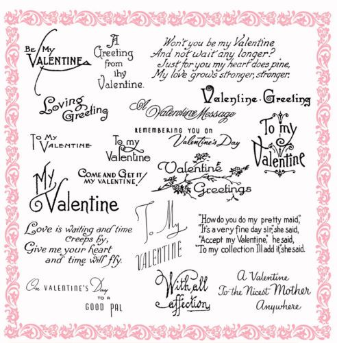 151 best images about Card Verses – Valentines Card Verses