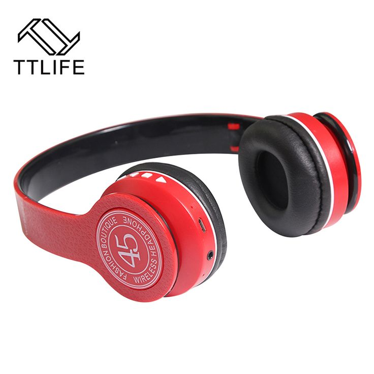 TTLIFE Sports Wireless Bluetooth 4.1 Headphone foldable Stereo music sound deep bass Headsets Noise Cancelling for iPhone Xiaomi #Affiliate
