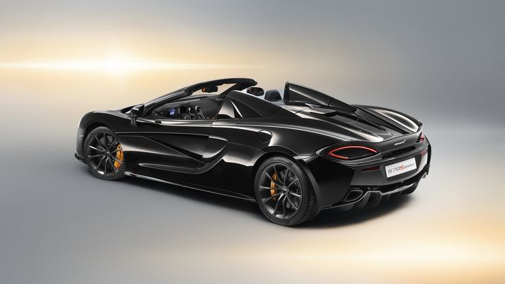 Staggering Mclaren 570s Spider Design Edition 2018 Rear Mclaren