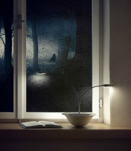 Blum Lamp By OneArtistStudio, Solar Powered Floral Design Lamp.