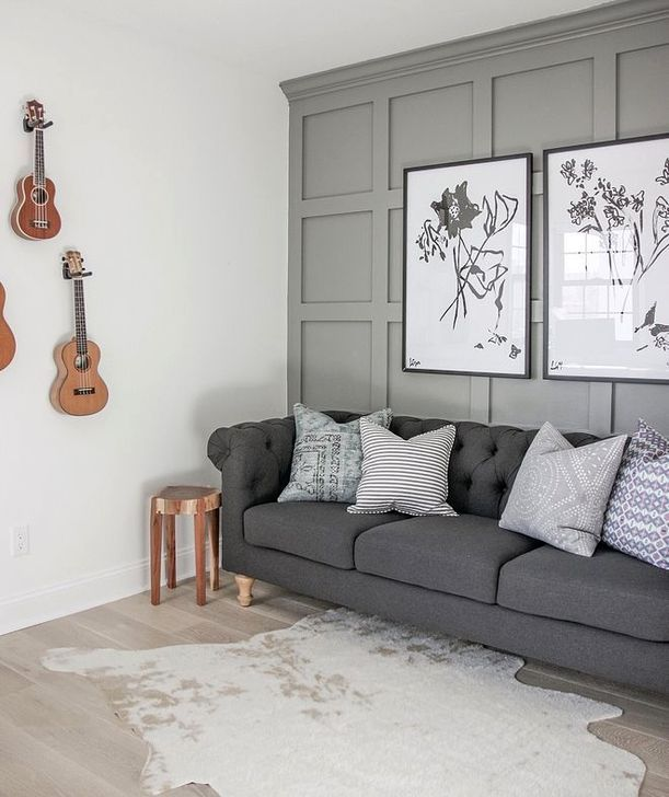 30 Awesome Wall Paint Color Trends Are Suitable For Your Living Room Trenduhome Accent Walls In Living Room Living Room Decor Living Room Wall In progress living room carpentry