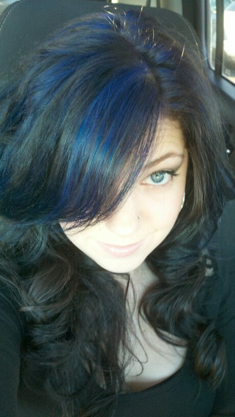 blue highlights for - photo #22