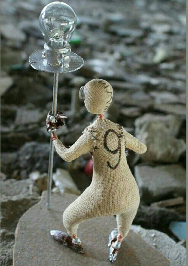 Кукла с мультфильма Девять
