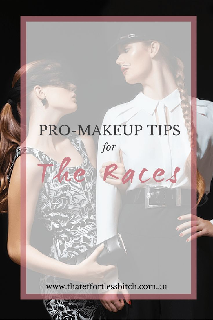 Makeup Tips and Ideas For The Races, Melbourne Cup And Any Fun Summer Party!