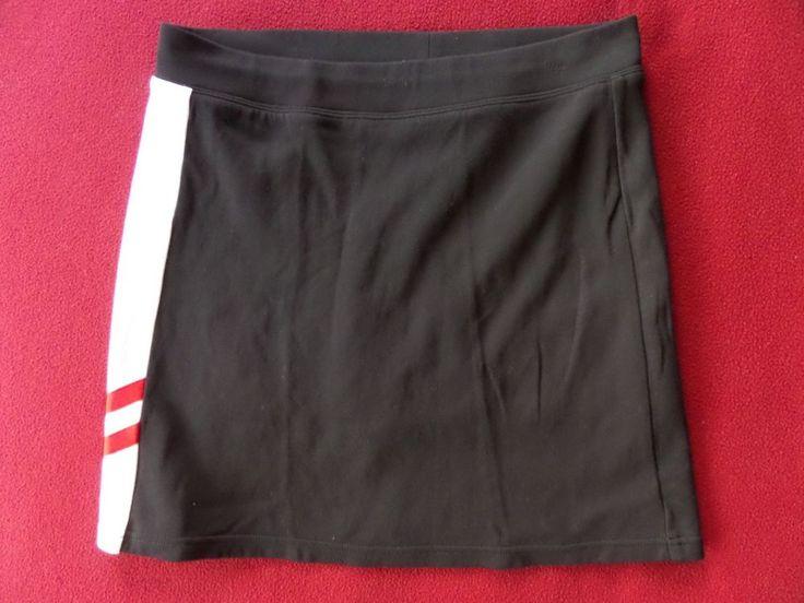 Ralp Lauren Golf Womens Black Cotton/Nylon Skirt Skort size M #RalphLaurenGolf #SkirtsSkortsDresses