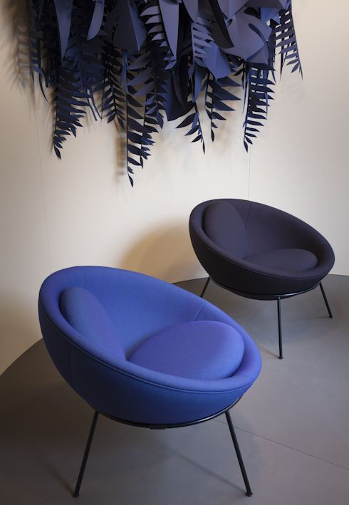 Spotti Milano presents: Bardi's Bowl Chair by Arper. Project and styling by Studiopepe Photos by Silvia Rivoltella