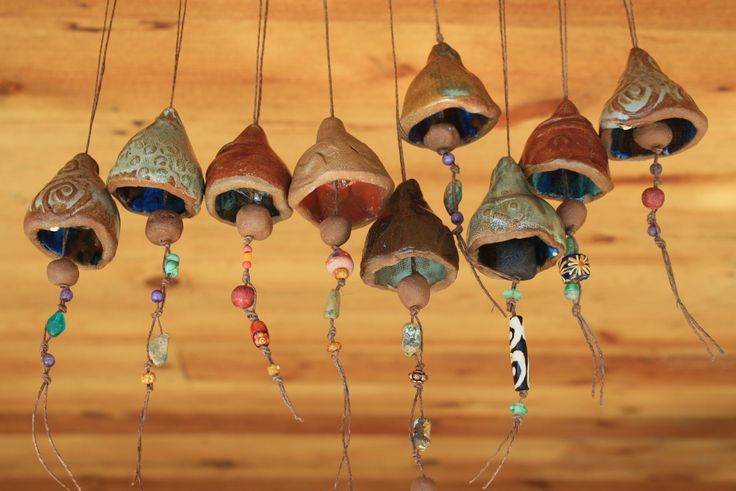 Little Ceramic Peace Bell