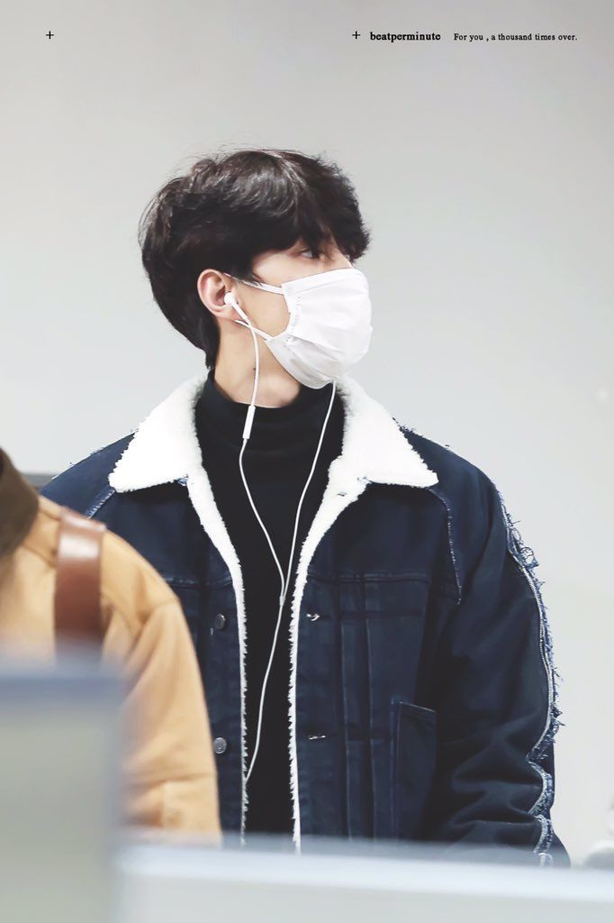 [HQ] 180212 Sehun at Incheon Airport