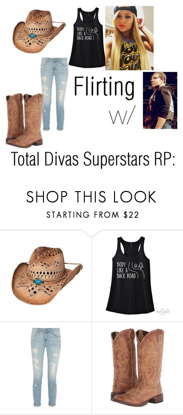 """Grace Galaxy(Total Divas Superstars RP): Trying to flirt"" by wwe-twd ❤ liked on Polyvore featuring Roper and TNA"