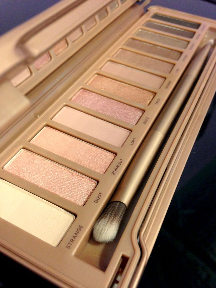 My favorite palette because of the colors...naked 3