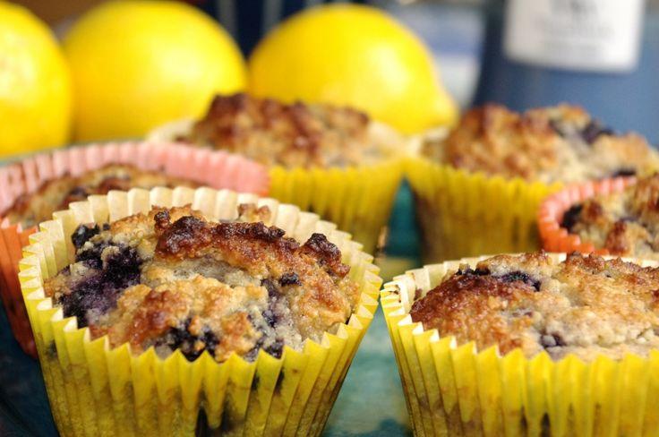Blåbär- & citronmuffins