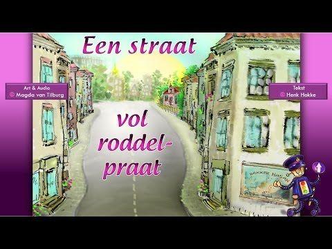 Een straat vol roddel-praat