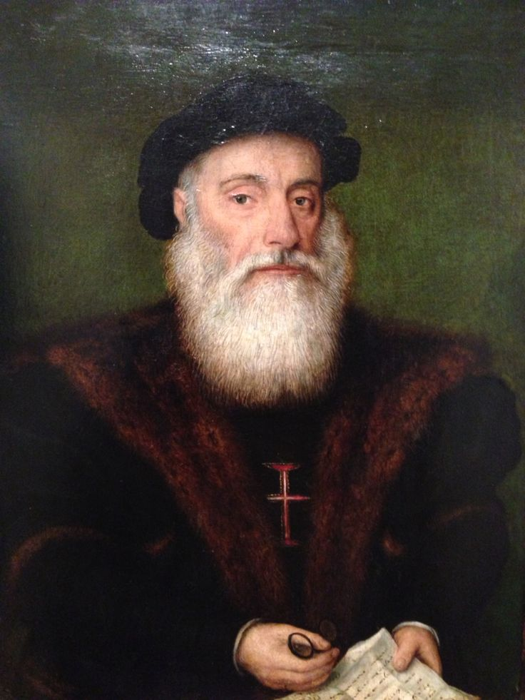Vasco da Gama, Museu Nacional de Arte Antiga de Lisboa.