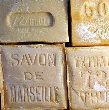 $10 Savon de Marseille (Marseille Soap) pure Palm oil soap from the South of France.