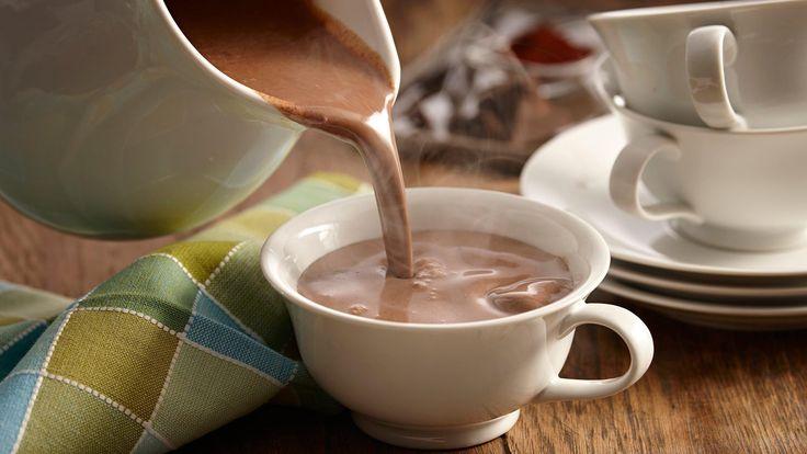 Chocolate caliente mexicano