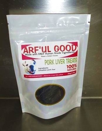 Pork Liver Treats 50g, $3.45, www.arfulgood.com