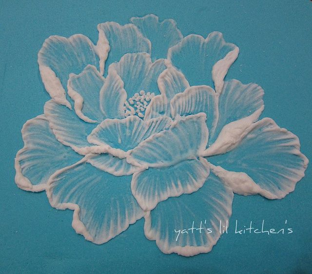 royal icing - brush embroidery | Flickr - Photo Sharing!
