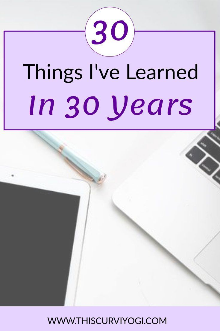 30 things you need to know about love for 30 years