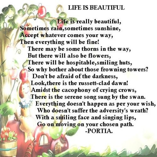 Top Best Famous Poems About Life