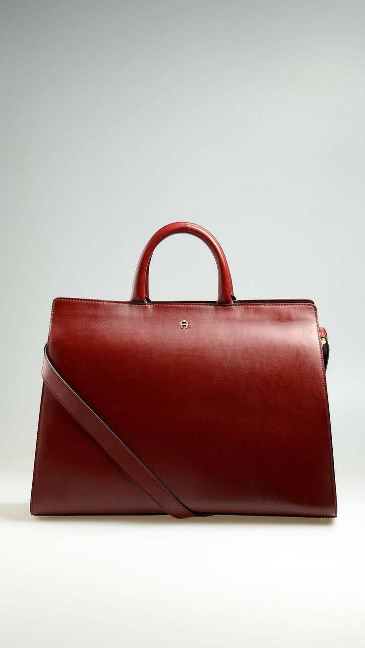 """Aigner - """"Cybill"""" leather tote bag - 138025 132 - Save money at Mood54"""